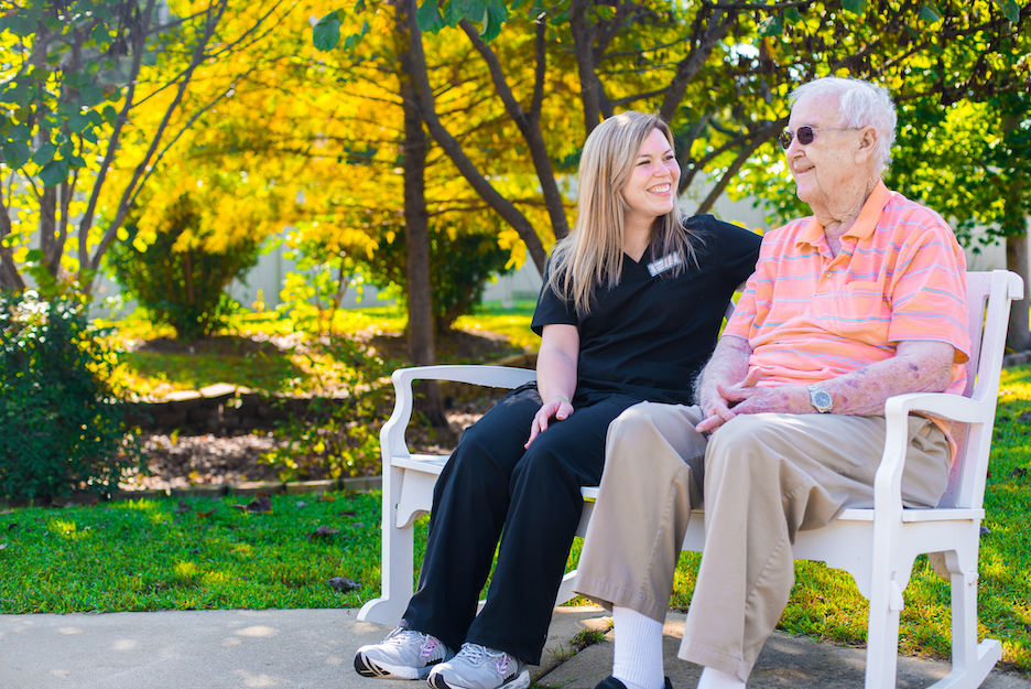 The Pavilion Senior Living Shares the Value of Fresh Air