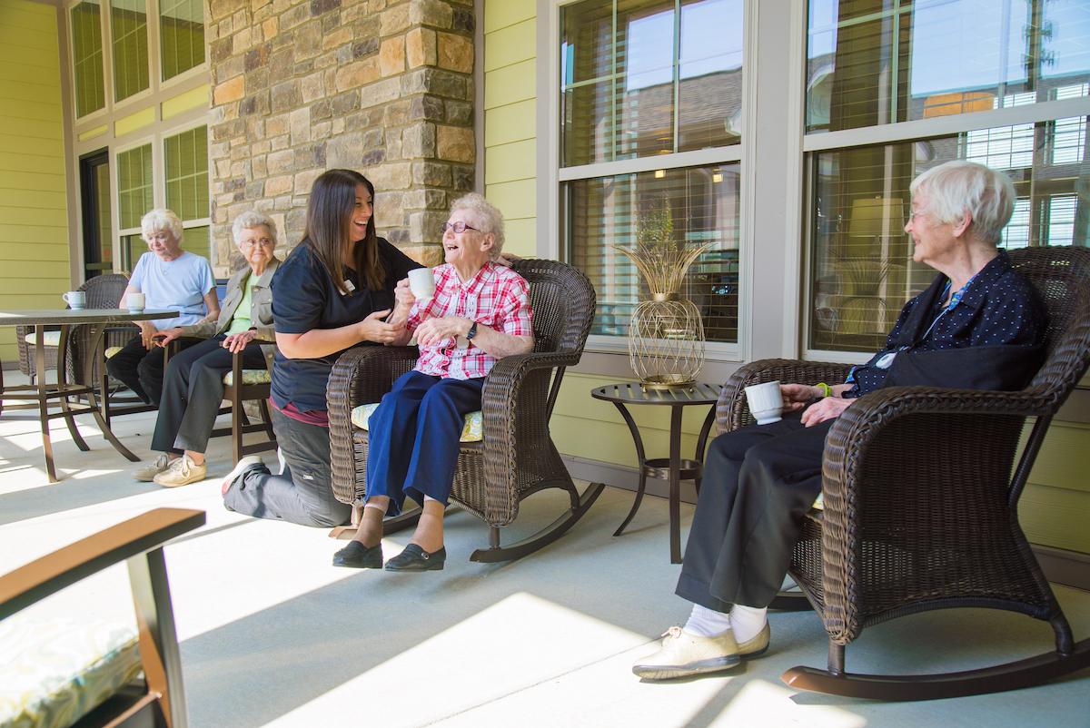 Senior Caregivers Tips The Pavilion