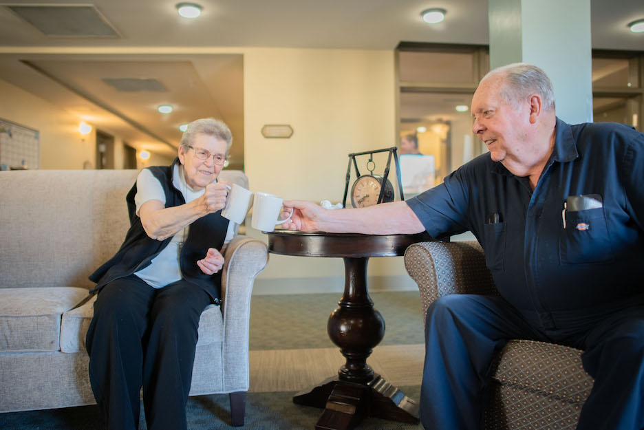 The Pavilion - Health Benefits of Senior Living Communities